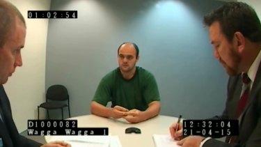 Vincent Stanford showed no emotion during his police interviews.