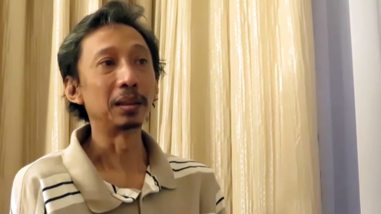 "In the Indonesian video ""Stories of IS deportees"", Dwi Djoko Wiwoho says he was pressured to marry off his daughter upon arrival in Islamic State territory."