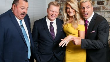 Uncertain future: Darryl Brohman's, Paul Vautin's and Beau Ryan's futures are up in the air, while Erin Molan will host a new rugby league show.