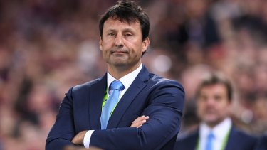 Dumped: NSW coach Daley won't be offered a new contract.