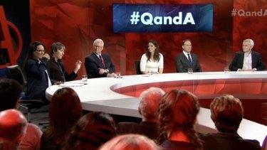 Monday night's <i>Q&A</i> panel.