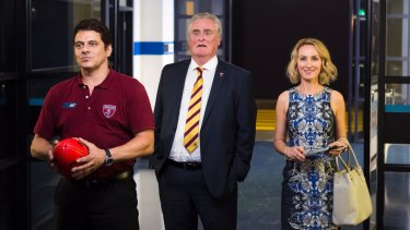 "Vince Colosimo as the coach, John Howard as the club president and Lisa McCune as the club ""mother""."