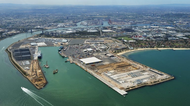 A deal to privatise the Port of Melbourne was struck in March with conditions that restricted competition from other ports.