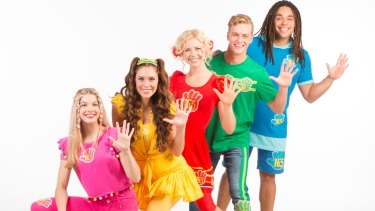 Hi-5: Bailey, Courtney, Shay, Lachie and Joe.