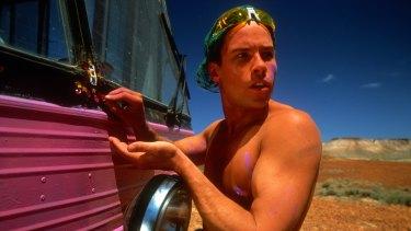 Guy Pearce in the Adventures of Priscilla, Queen of the Desert.