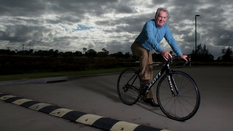 Riding high: Gerry Ryan is confident his team will do well in the Tour.
