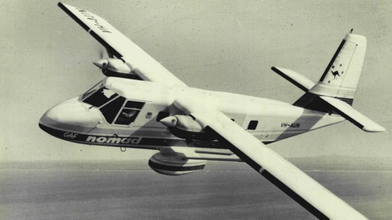 The ill-fated, Australian-made Nomad, pictured in 1976.