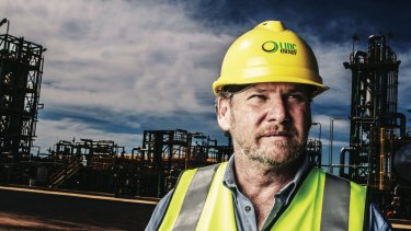 Linc Energy founder Peter Bond said he wanted to move back to NSW.