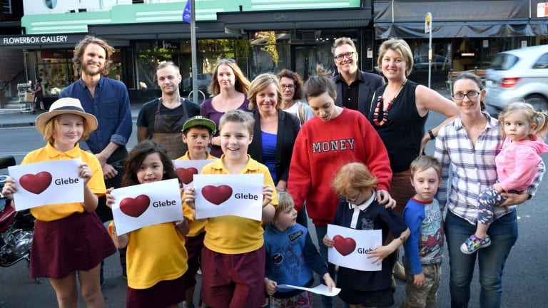 Glebe locals say they do not want a pop-up McCafe.