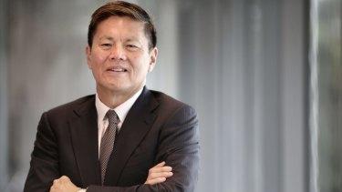 Optus CEO Allen Lew.