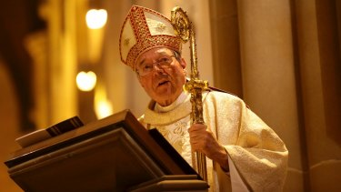 Controversy: Cardinal George Pell.