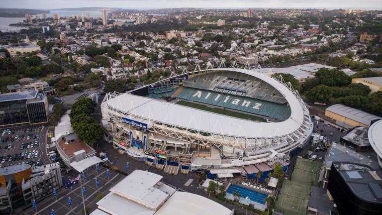 Allianz Stadium in Moore Park.