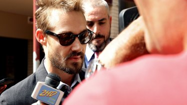 Daniel Johns was banned for drink driving in February.
