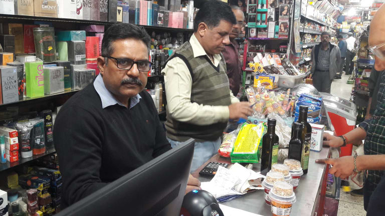 Girls in India can't be like girls in the West, says shopkeeper Vijay Verma.