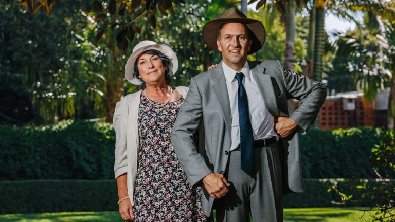 Actors Colin Lane and Barbara Lowing will play Joh and Flo Bjelke-Petersen in the musical comedy Joh for PM.
