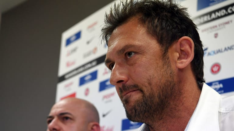 'Not something you can plan for': Tony Popovic said the offer from Turkey came unexpectedly.