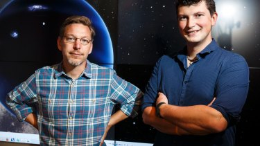 Mike Brown, professor of planetary astronomy, and Konstantin Batygin, assistant professor of planetary science, at the California Institute of Technology, published the first indirect evidence for planet nine in 2016.