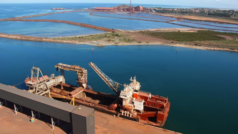 Whyalla Steelworks in South Australia, formerly owned by Arrium.