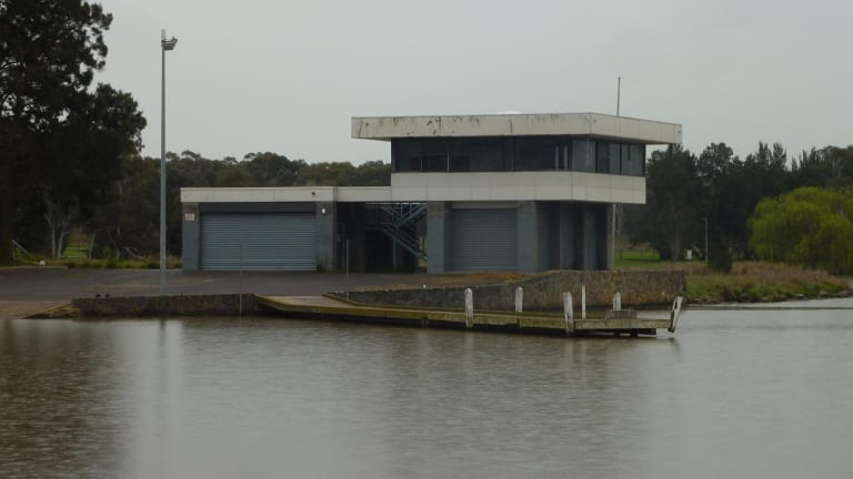 The old Water Police building at Lake Ginninderra is regarded by many as something of an eyesore.
