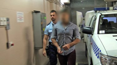 Police arrest George Gerges.