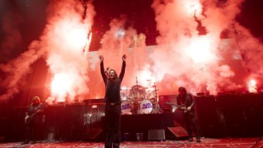 Black Sabbath's jaw-dropping Melbourne show gave pumped-up fans exactly what they wanted.