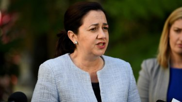 Queensland Premier Annastacia Palaszczuk argued for a waste levy in 2010.