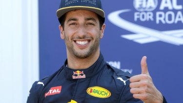 Moving on: Daniel Ricciardo is putting his Monaco disappointment behind him and looking forward to Montreal.