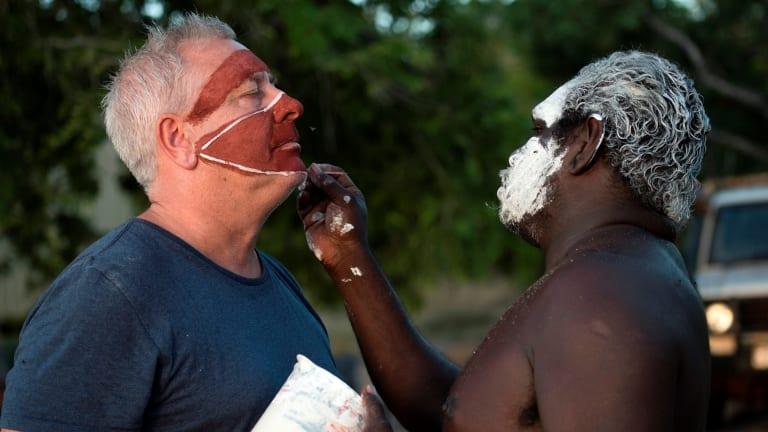 "Ian ""Dicko"" Dickson is open to experiencing Aboriginal Australia."