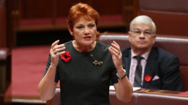 Pauline Hanson hopes to get a One Nation Premier in Queensland.