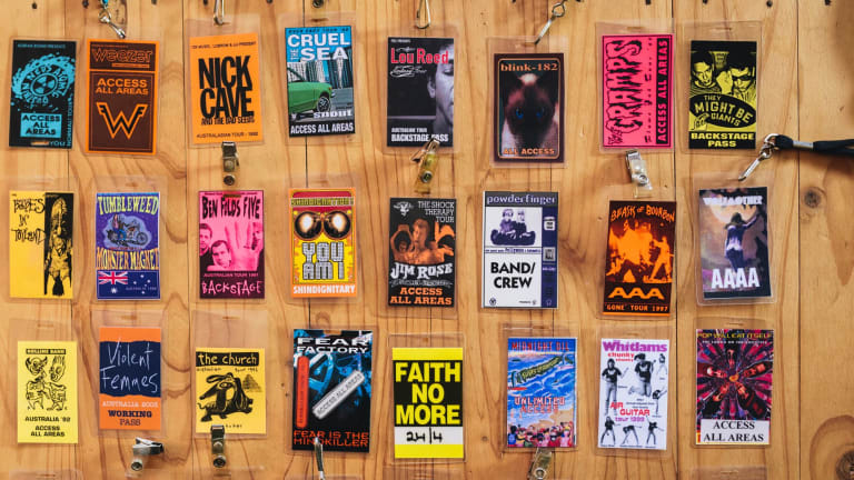 Backstage access - Peter Spicer's memories of ANU Bar gigs past.