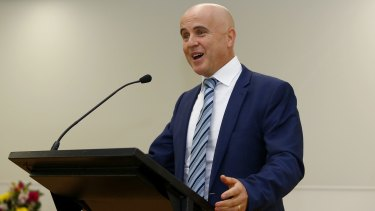 Adrian Piccoli says the Band 8 requirement is one of a suite of reforms to lift numeracy and literacy in NSW.