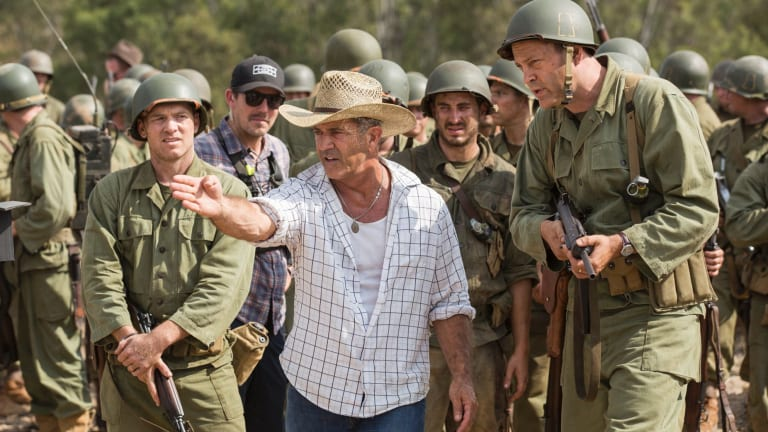 Mel Gibson's recent War World II epic <i>Hacksaw Ridge</i> was filmed around Richmond.