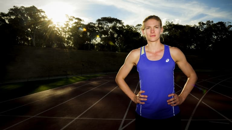 Melissa Breen is hoping to beat a frustrating injury to qualify for the Commonwealth Games.