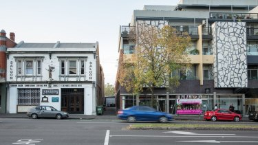 The Longhorn Saloon in Carlton and the apartment next door.