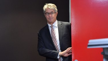 Outgoing AFL chairman, Mike Fitzpatrick.