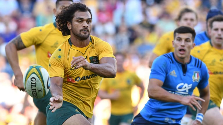 Passing chance: Karmichael Hunt made it all the way to the top despite a previous drug incident.