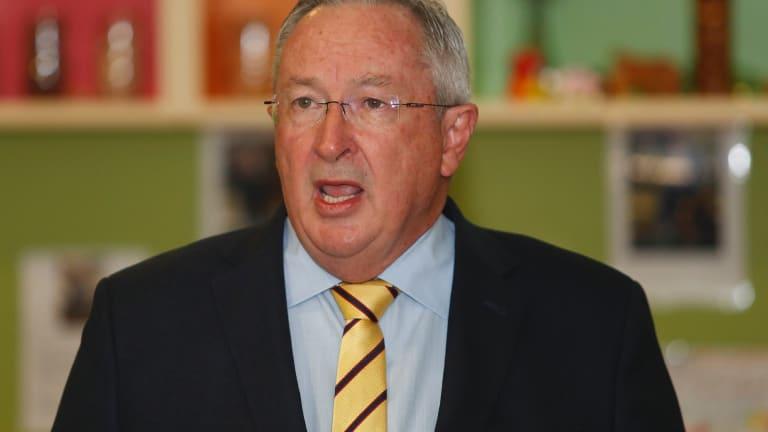 Minister for Health Brad Hazzard.