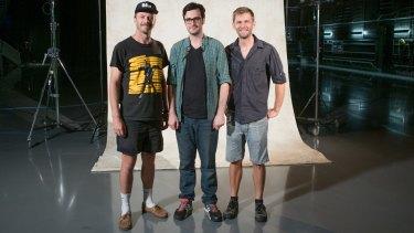 Kirk Docker, Nick McDougall, Aaron Smith present <i>You Can't Ask That</i>.