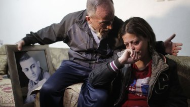 The parents of Arab Israeli Mohammed Musallam mourn their son, whose killing was filmed by Islamic State.