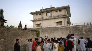 The house where Osama bin Laden was killed in Abbottabad, Pakistan.