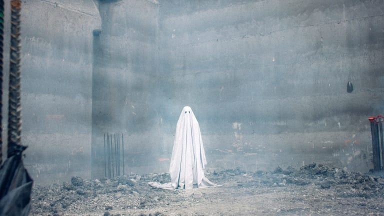 Casey Affleck spends most of A Ghost Story under a sheet.
