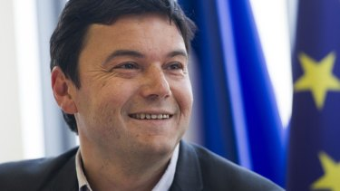 Star economist ... Thomas Piketty, author of Capital in the Twenty-First Century.