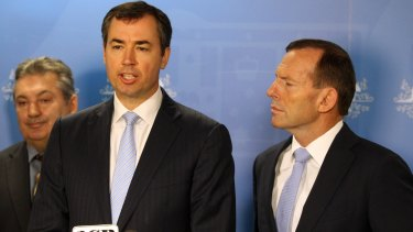 Impersonation allegations: Justice Minister Michael Keenan.