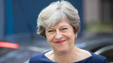 Putting on a brave face: UK Prime Minister Theresa May