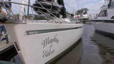 Cocaine seized: The yacht Mayhem of Eden.
