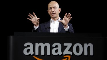 """Jeff Bezos said he would have an """"open mind"""" towards Donald Trump's presidency."""