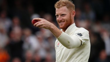 Ben Stokes during a recent Test match between England and the West Indies at Lord's cricket ground in London.
