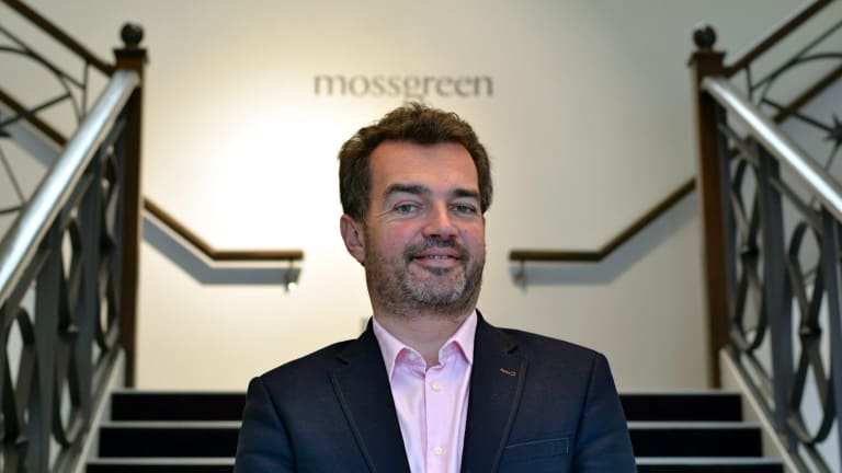 """Mossgreen chief executive and co-founder Paul Sumner: """"We've probably grown a little bit fast considering that the market plateaued.''"""