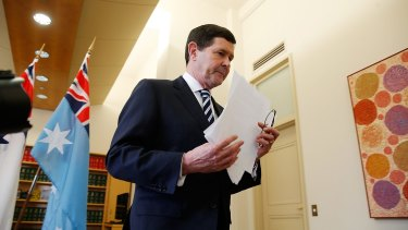 Staying on as an MP: Kevin Andrews says he will contest the seat of Menzies in the next federal election.