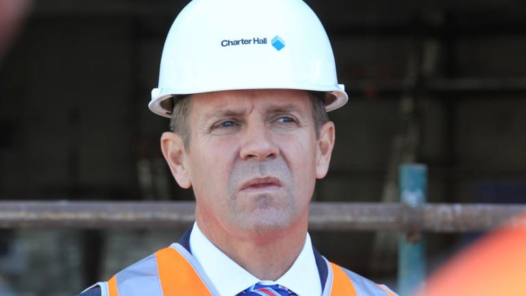 NSW Premier Mike Baird is facing a fight with unions over the new regulation.
